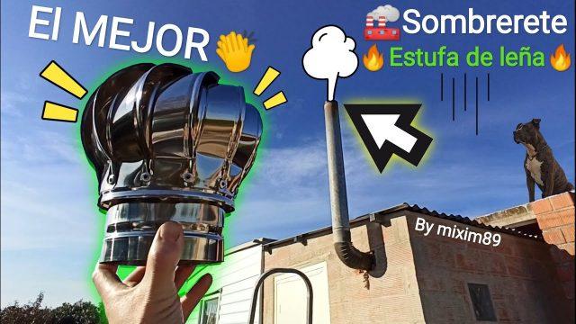 Instalación Sombrerete Aspirador Giratorio Turbo Chimenea Expulsa el humo sin dificultad by mixim89