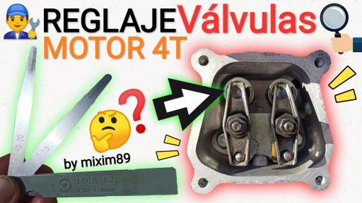 Como realizar el reglaje de valvulas a motor 4 tiempos motobomba campeón mf36 y honda gx160 by mixim89