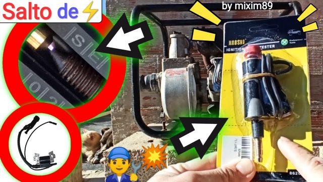 Herramienta o útil para diagnostico de salto de chispa bobina de encendido y bujía by mixim89
