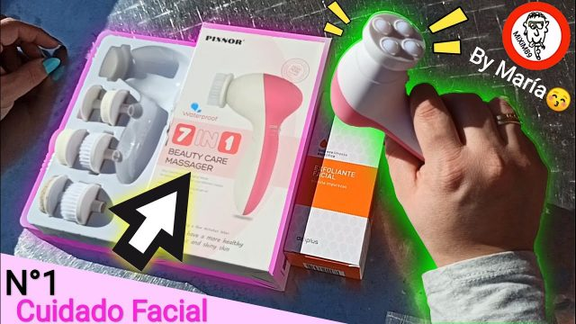 Pixnor 7 en 1 cepillo de limpieza y masaje facial unboxing y review by mixim89