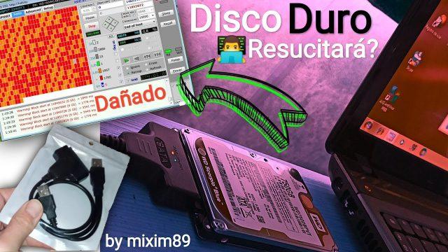 Reparar disco duro dañado y recuperación de datos con cable sata y programa victoria by mixim89