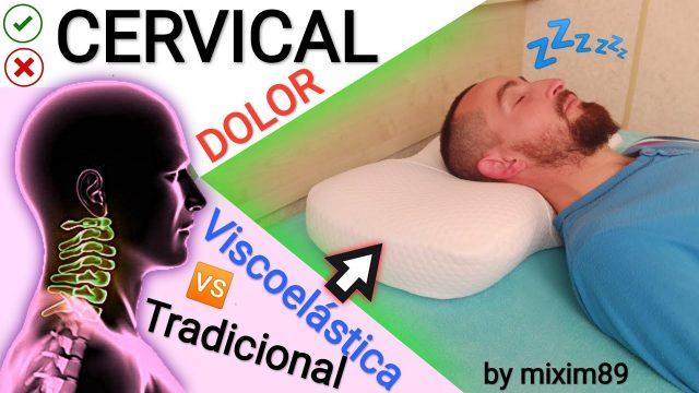 Almohada cervical viscoelástica o almohada tradicional dolor de cervicales solución by mixim89