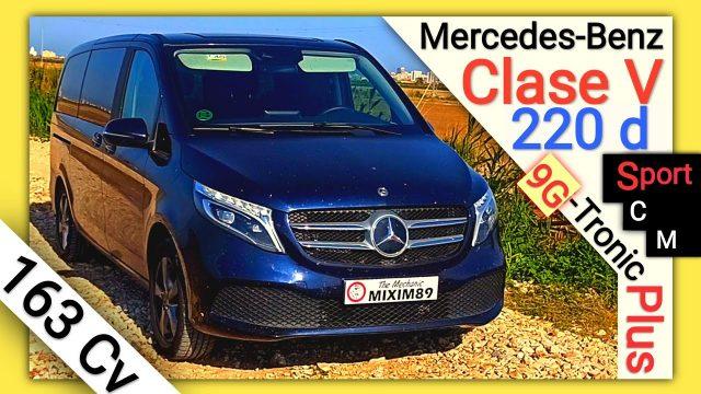 Probamos la Furgoneta Mercedes Benz Clase V 220d 163cv Automática 9G-Tronic Plus by mixim89