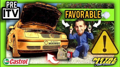 Como realizar mantenimiento Pre ITV al coche mejores aditivos antihumos metal lube castrol by mixim89
