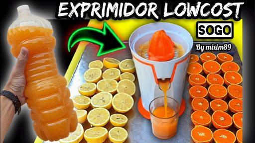 Mejor exprimidor de zumo de cítricos naranjas y limones lowcost Sogo SS 5130 by mixim89