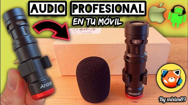 Micrófono EXTERNO para MÓVIL (Mejor Opción SIN CABLES) Configuración + Prueba de Audio by mixim89