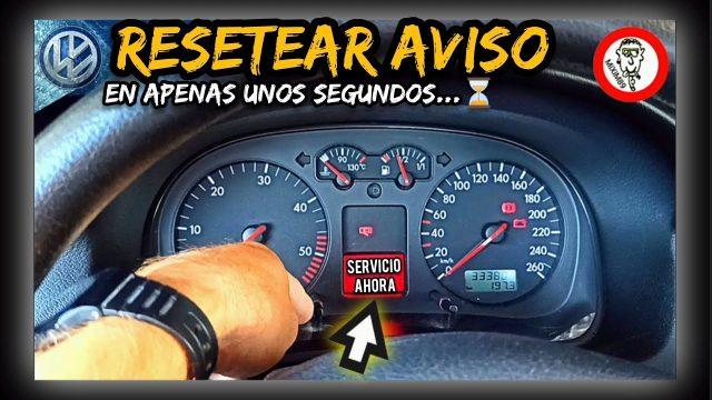 Eliminar o Resetear Aviso Revisión (SERVICIO AHORA) Volkswagen Bora, Golf, Passat... by mixim89