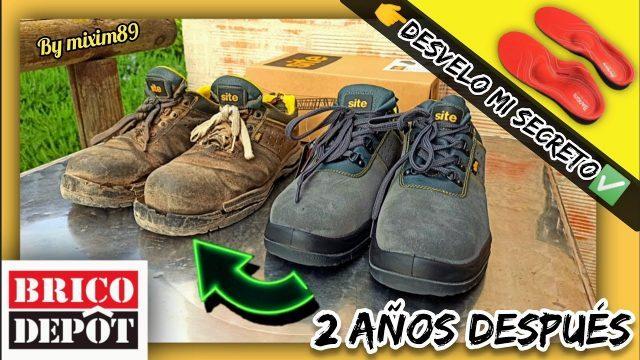 """Unboxing y Review ZAPATOS de SEGURIDAD Site de """"BRICODEPOT"""" + Mi SECRETO de Confort by mixim89"""
