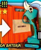 TIJERAS de PODA a BATERÍA 15-40mm (UNBOXING y REVIEW) Nº1 Agricultura y Jardinería by mixim89
